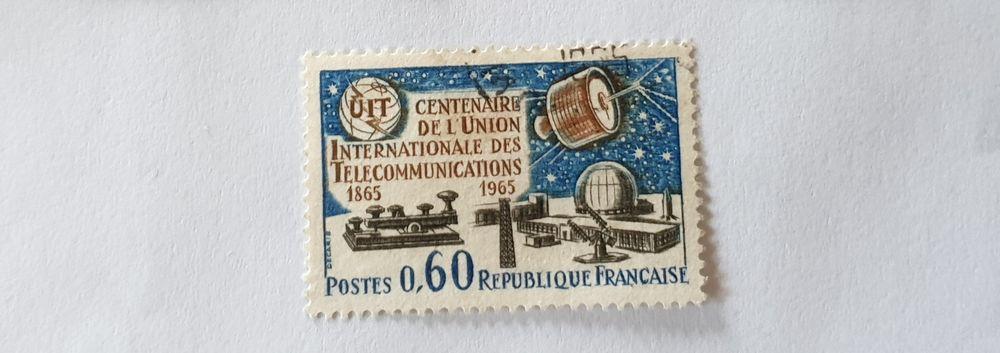 Timbre france Centenaire de l'union 1965-0.08 euro 0 Marseille 9 (13)