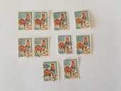 Timbre france Coq de Decaris 0F30- 1962 -  lot 0.30 euro  0 Marseille 9 (13)