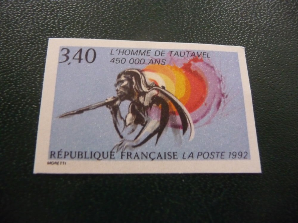 timbre  de  france  non  dentelé  n  2759a  neuf** 6 Fabrègues (34)