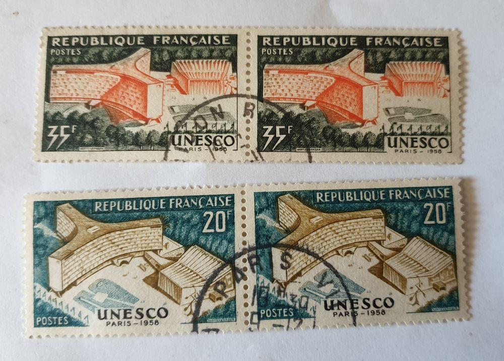 timbre France lot par deux    unesco  -  0.20 euros possibl 0 Marseille 9 (13)
