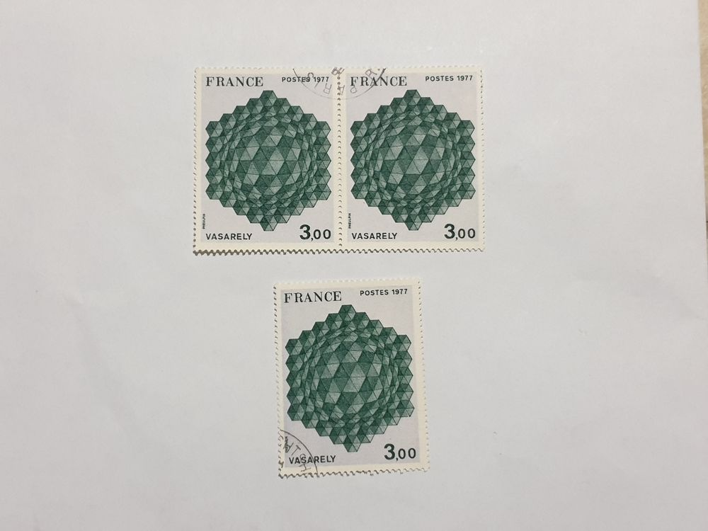 Timbre france Hommage à l'hexagone 1977 lot 0.90 euro 0 Marseille 9 (13)