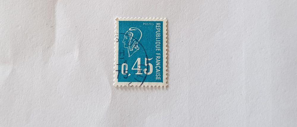 Timbre france Marianne de Béquet 1971 -  0.03 euro  0 Marseille 9 (13)