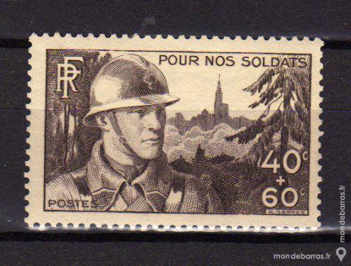 N° 451 Timbre France NEUF** 2 La Seyne-sur-Mer (83)