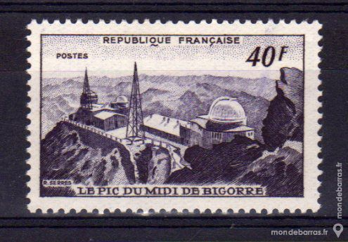 N° 916 Timbre France NEUF** An 1951