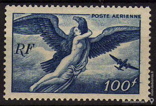 Timbre France NEUF** N° 18 POSTE AERIENNE 3 La Seyne-sur-Mer (83)