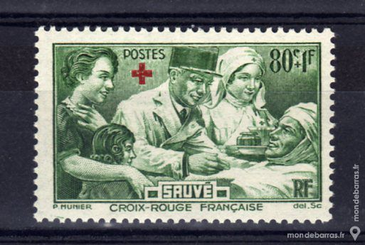 N° 459 Timbre France NEUF** An 1940 3 La Seyne-sur-Mer (83)