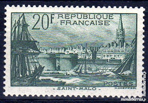 N° 394 Timbre France NEUF** An 1938
