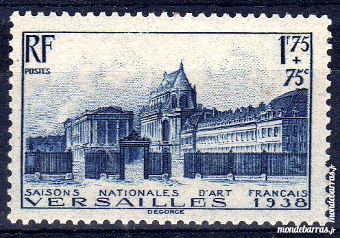 N° 379 Timbre France NEUF** An 1938 11 La Seyne-sur-Mer (83)