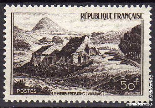 N° 843 Timbre France NEUF ** An 1949