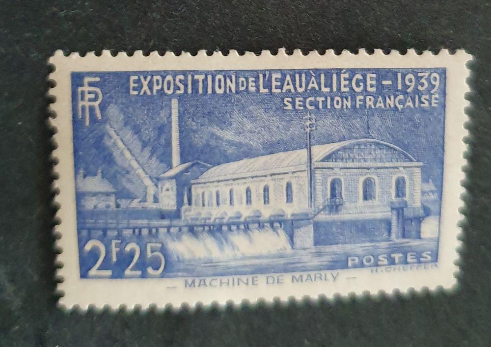 Timbre France 430 neuf 6 Joué-lès-Tours (37)