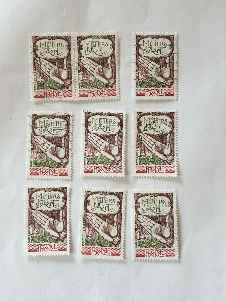 Timbre France Oblitéré 1978 Métiers d'art - lot 0.90 euro ou 0 Marseille 9 (13)