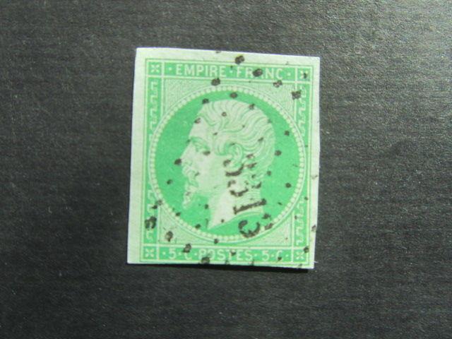 timbre france oblitéré 12 13 Reims (51)