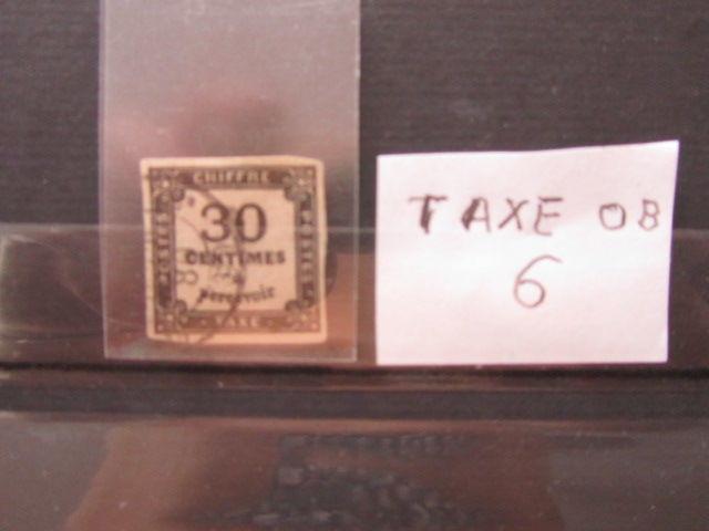 timbre france oblitéré taxe 6 32 Reims (51)