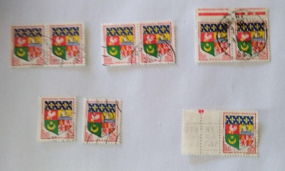 timbre france 0.05 . oran 1960- 0.03 euros l'unité  0 Marseille 9 (13)