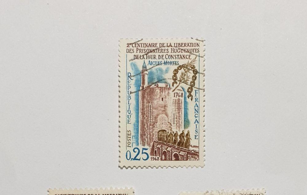 Timbre France Prisonnières huguenotes d´Aigues 1968 lot 0.15 0 Marseille 9 (13)