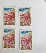 Timbre france Thiers (Puy de Dôme) 1976- lot 0.36 euro ou 0. 0 Marseille 9 (13)