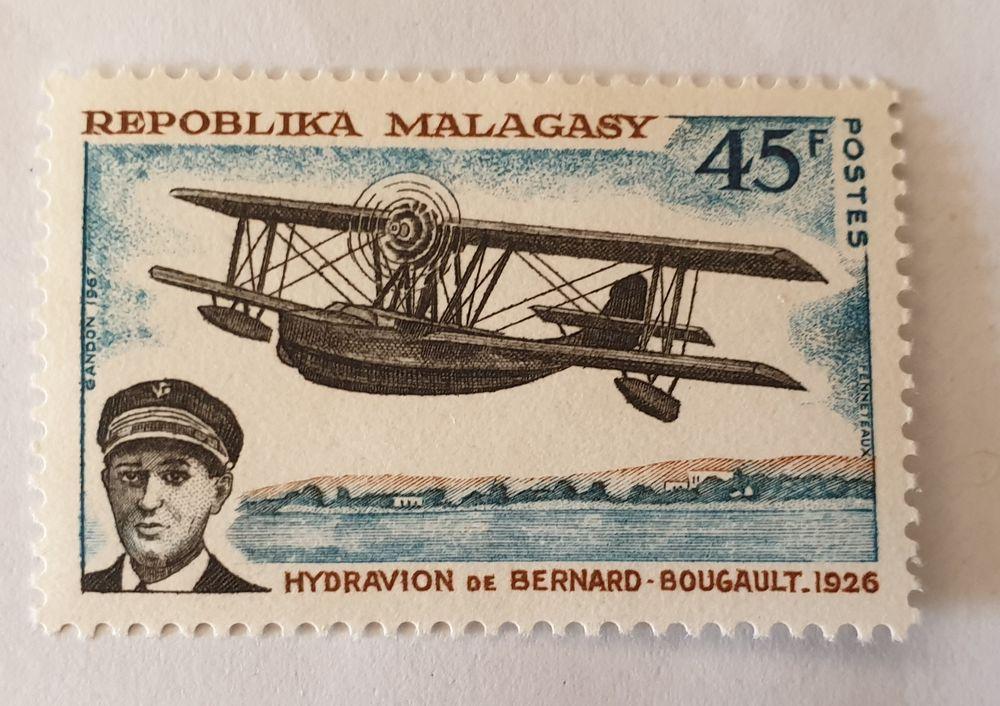 Timbre madagascar aviation pionnier 1967 neuf - 0.60 euro ou 0 Marseille 9 (13)