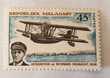 Timbre madagascar aviation pionnier 1967 neuf - 0.60 euro ou