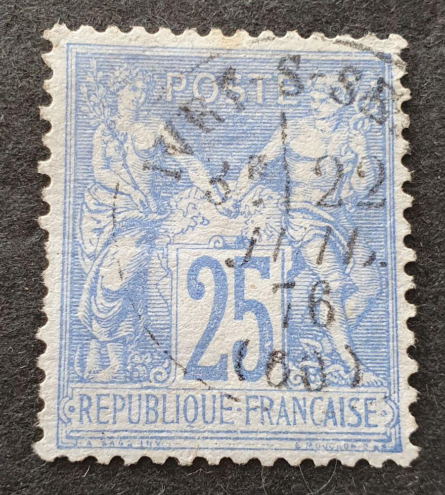 Timbre numéro 68 oblitéré 9 % de la côte 8 Joué-lès-Tours (37)