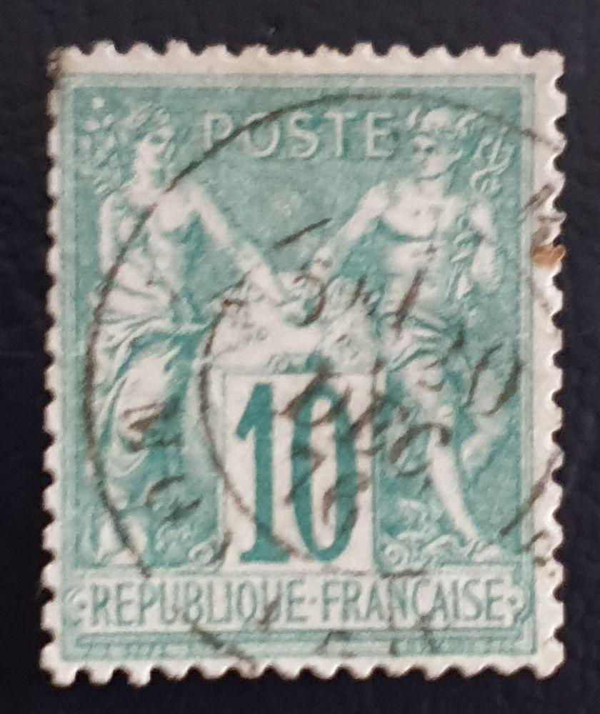 Timbre 65 oblitéré TTB 4 Joué-lès-Tours (37)