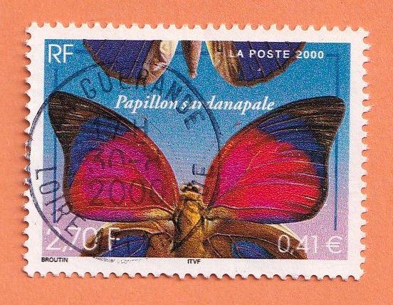 Timbre Papillon 0 Lille (59)