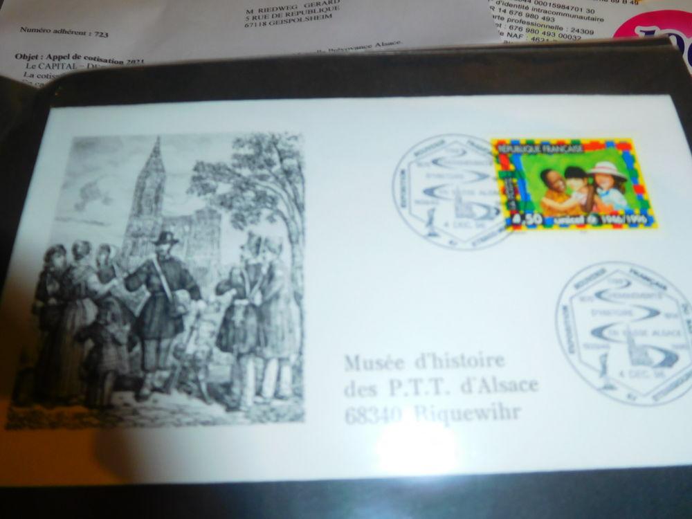 timbre poste des années 1993 1994 1995 du 0 Geispolsheim (67)