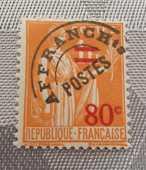 Timbre Préo 74  neuf 1 Joué-lès-Tours (37)
