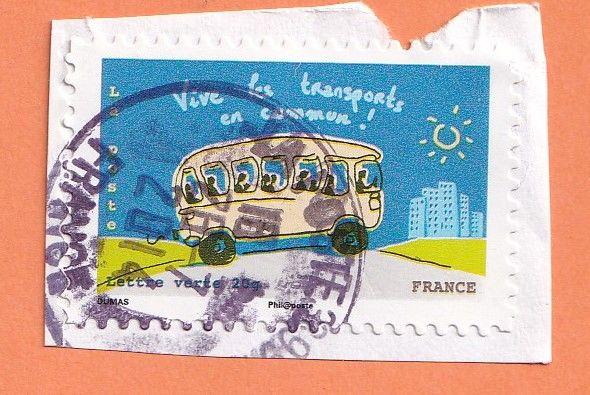Timbre Transports en commun 0 Lille (59)