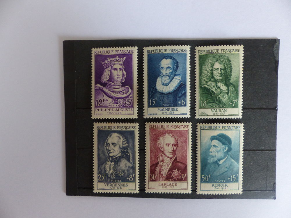 TIMBRES 1027 / 1032 NEUFS ** COTE 160 €