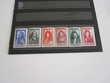 Lot de 6 timbres 1944 N° 612 à 617