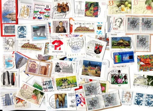 1 LOT 60 timbres Allemand 1 Houilles (78)