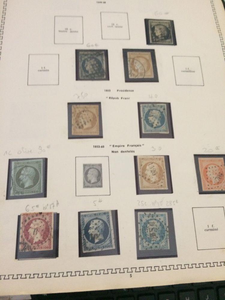 timbres anciens France 0 Solliès-Toucas (83)