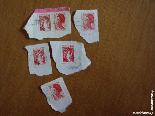 timbres années 81/82 1 Ostricourt (59)
