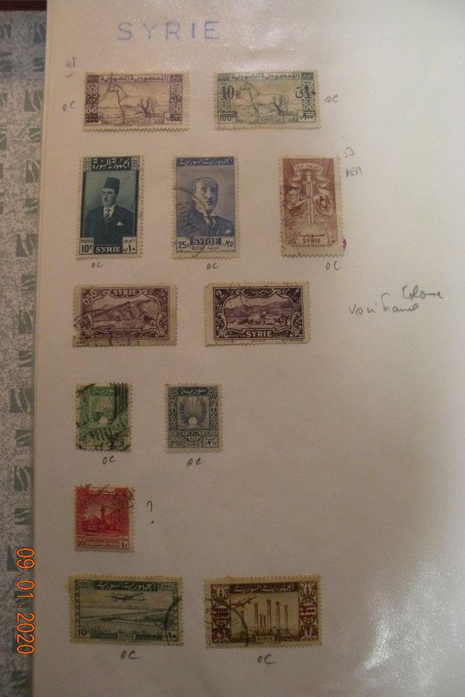 130 timbres Asie-Océanie 33 Leers (59)