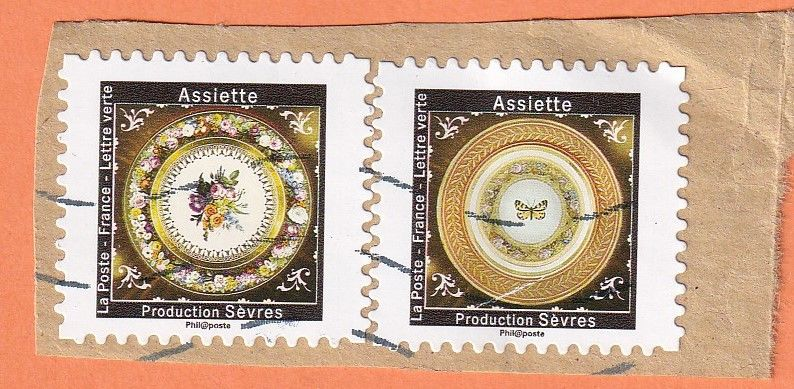 Timbres Assiette 0 Lille (59)