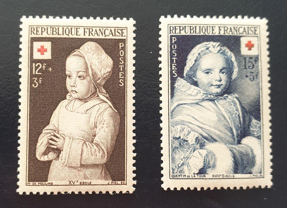 914 et 915  timbres avec charnière 1 Joué-lès-Tours (37)