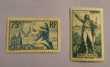 313 et 314 timbres avec charnière