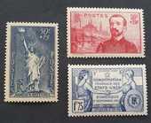 Timbres 352 ? 353 et 357 avec charnière 2 Joué-lès-Tours (37)