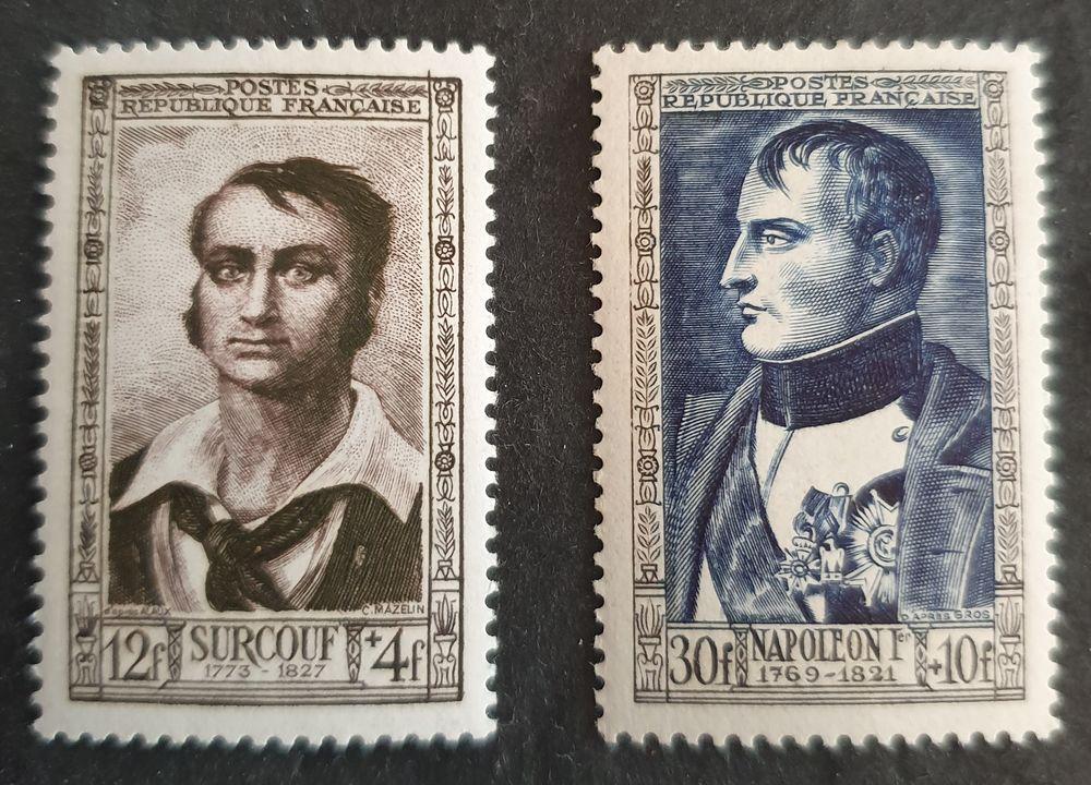 894 et 896 timbres avec charnière