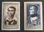 894 et 896  timbres avec charnière 2 Joué-lès-Tours (37)
