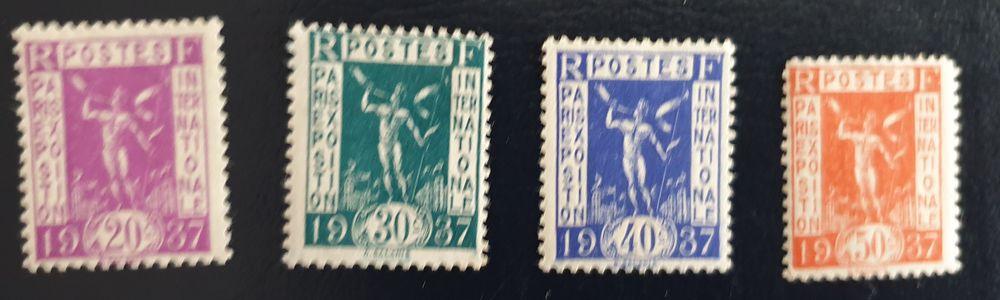 322 à 325 Timbres avec charnières 1 Joué-lès-Tours (37)