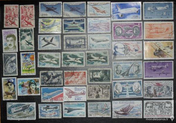 42 timbres aviation français 15 Montreuil (93)