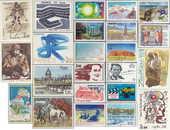 Timbres de collection français en franc de 3F NEUF 0 Aubin (12)