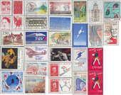 Timbres de collection France en franc de 1F à 2F50 NEUF 0 Aubin (12)
