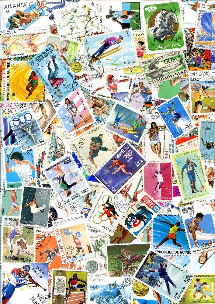 200 timbres DIVERS SPORTS 7 Lantriac (43)