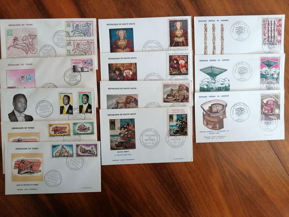 timbres enveloppes 1er jour 50 Valbonne (06)