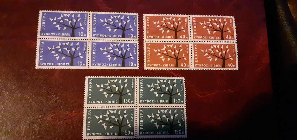 TIMBRES EUROPA CHYPRE NEUFS.SUPERBES.COTE 300.00 45 Lille (59)
