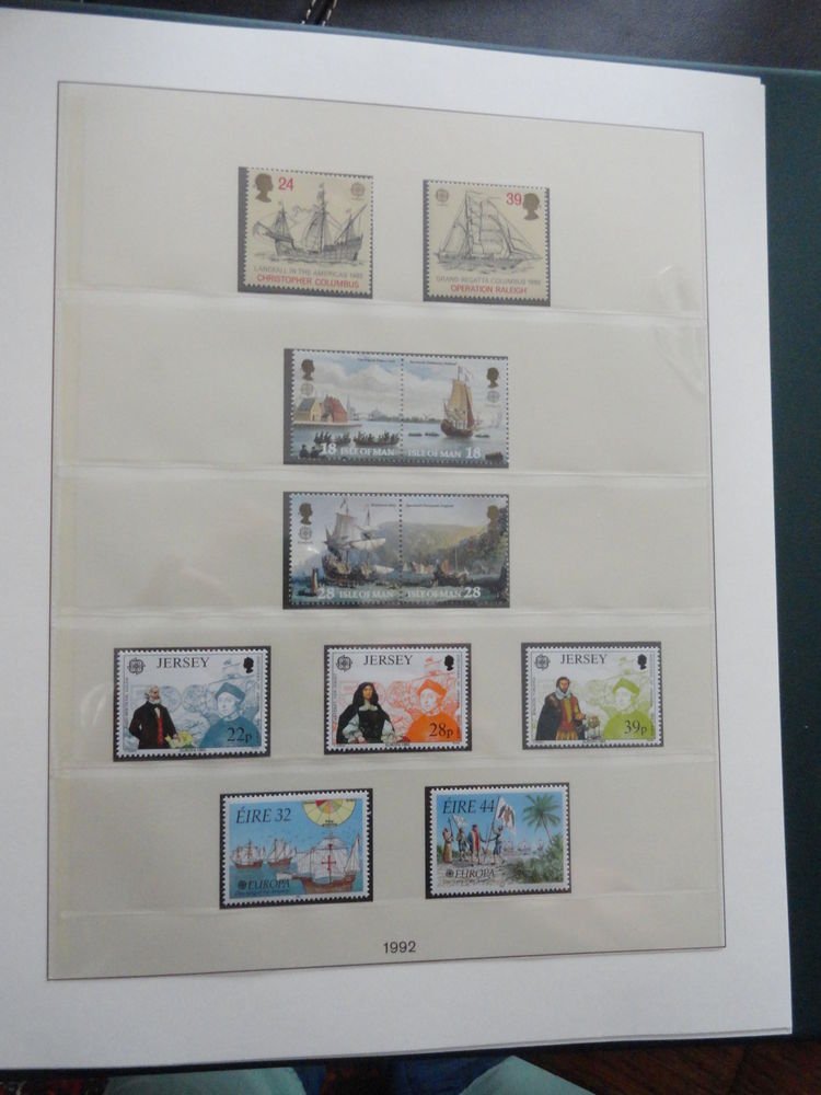 Timbres EUROPA Tous Pays 0 Mulhouse (68)