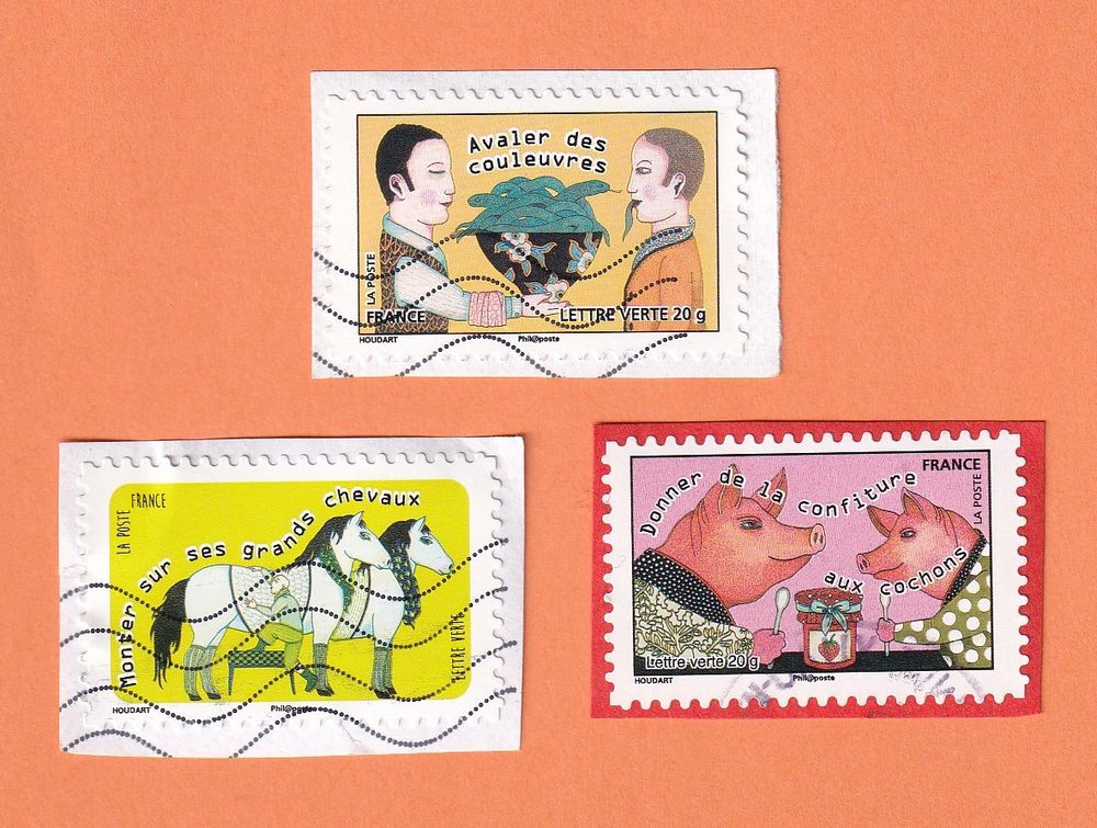 Timbres Expressions 0 Lille (59)