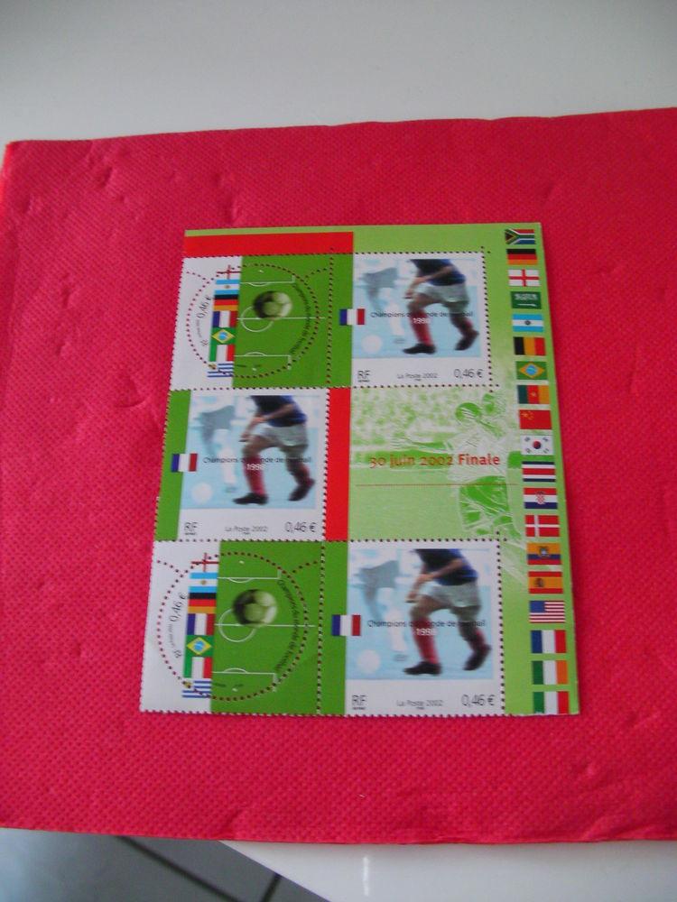 Timbres finale foot 30 juin 2002 2 Saint-Etienne (42)
